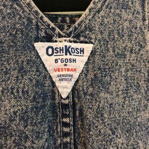OshKosh B'gosh Bottoms - OshKosh B'Gosh Vintage 24 Month Acidwash overalls